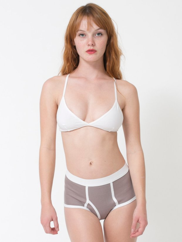 American Apparel Organic Baby Rib Brief $14.00
