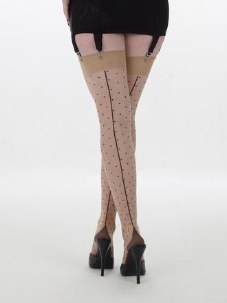 Swiss Dot Stockings by WKD